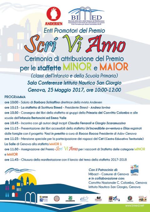 5 locandina Genova Premio Minor Maior bassa new